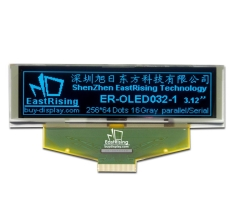 OLED Display Arduino 3.2 inch Graphic Serial Module 256x64,Blue on Black ER-OLED032-1B